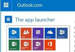 Nuevo launcher de apps en Correo Outlook