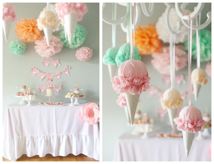 DIY Wedding Shower Decoration Ideas