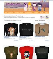 Tieda de camisetas Pendientera