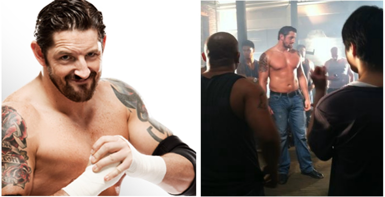Wade barrett could of been the special niche character above right