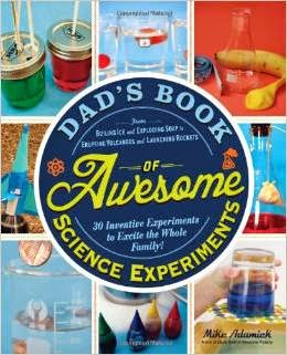 Dad's Book of Awesome Science Experiments cover
