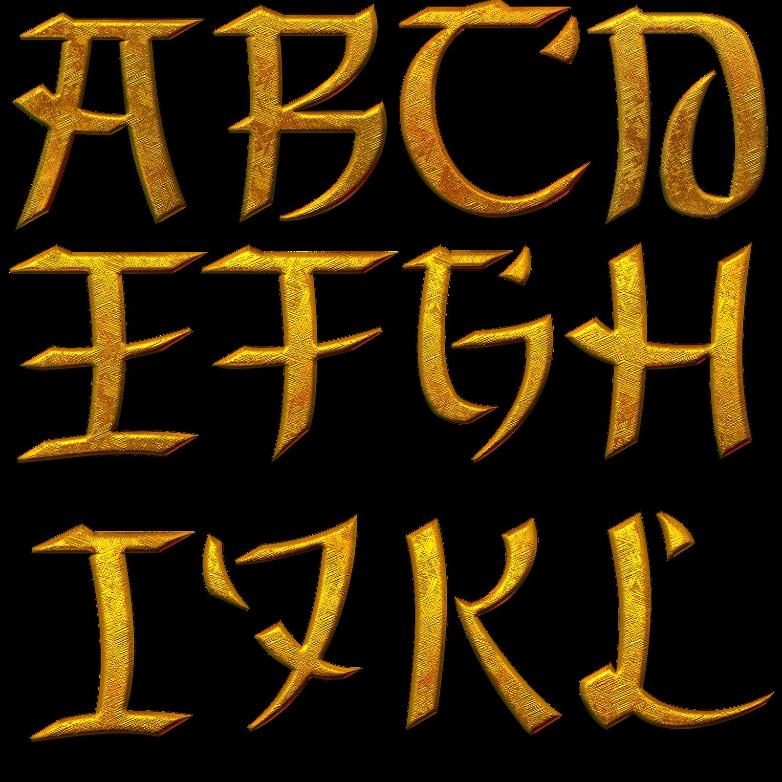 letras asiaticas renders dez On letras asiaticas