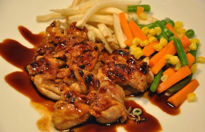 Resep steak ayam panggang