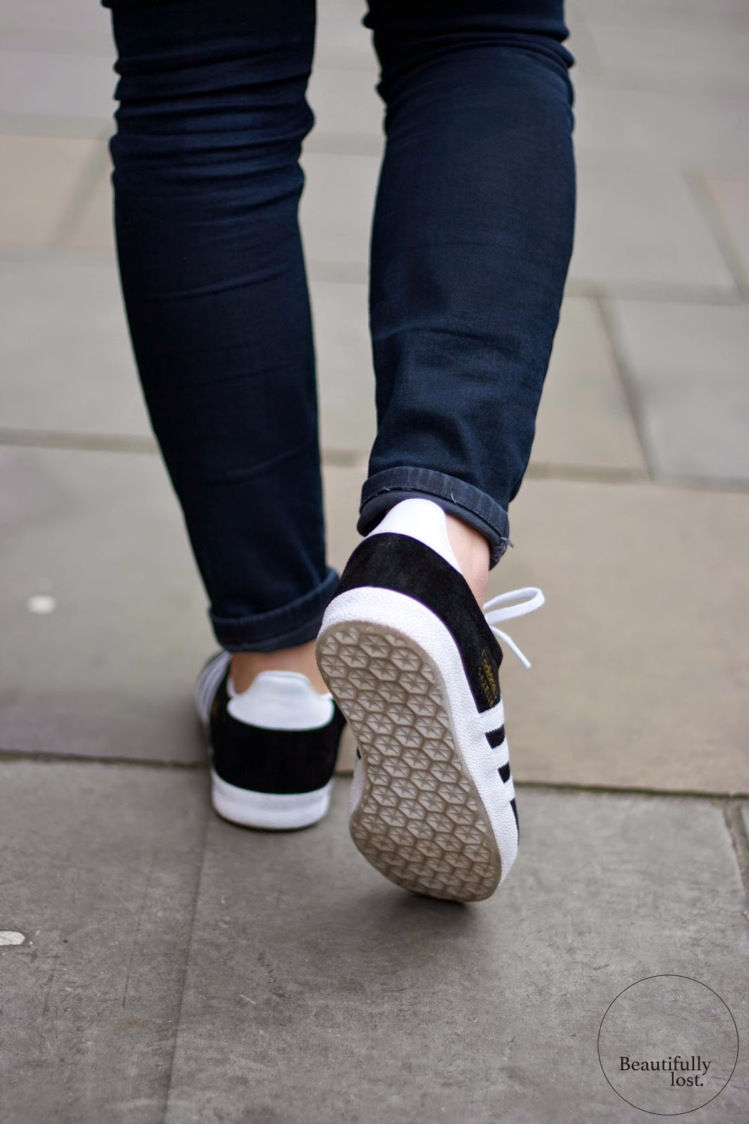 Adidas Gazelle Grey On Feet Fawdingtonbmw Co Uk