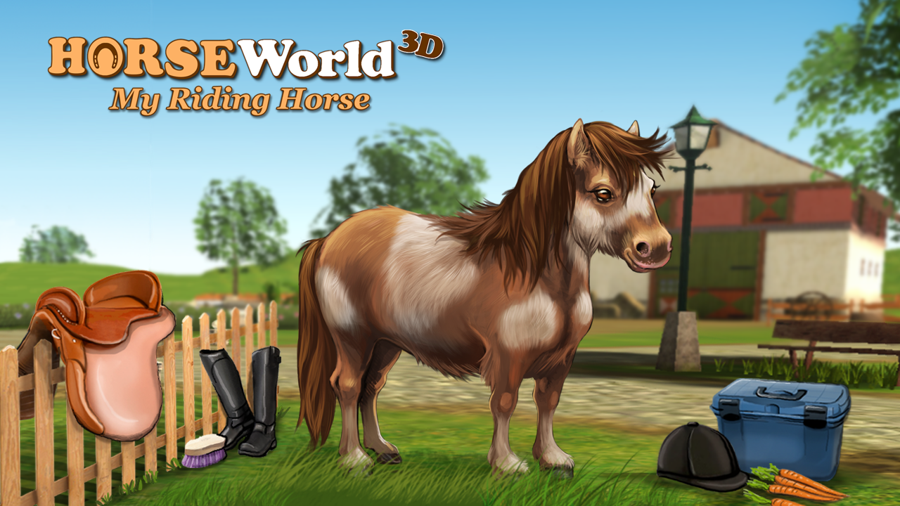 HorseWorld 3D: My Riding Horse v1.9 Full Apk Mod [Money]