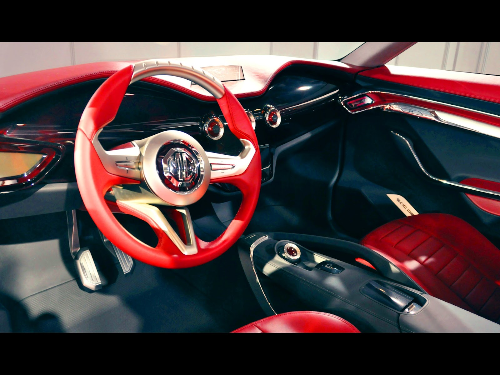 2012 mg icon concept beijing auto show news hot car. Black Bedroom Furniture Sets. Home Design Ideas
