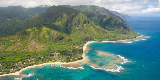 Inilah 10 Peringkat Pulau Terbaik di Dunia, Bali Nomor Dua - Pulau Kauai