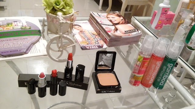 UK Collections Lipstick and Two-Way Cake Foundation, beauty blogger,