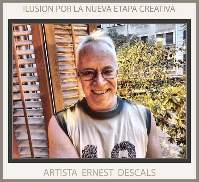 ERNEST DESCALS-PINTOR-PINTURA-ARTE-ARTISTA-ETAPA CREATIVA-ILUSION-FOTOS-MANRESA-ESTUDIO-CATALUNYA-