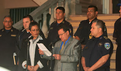 Police announce promotions, Honduras