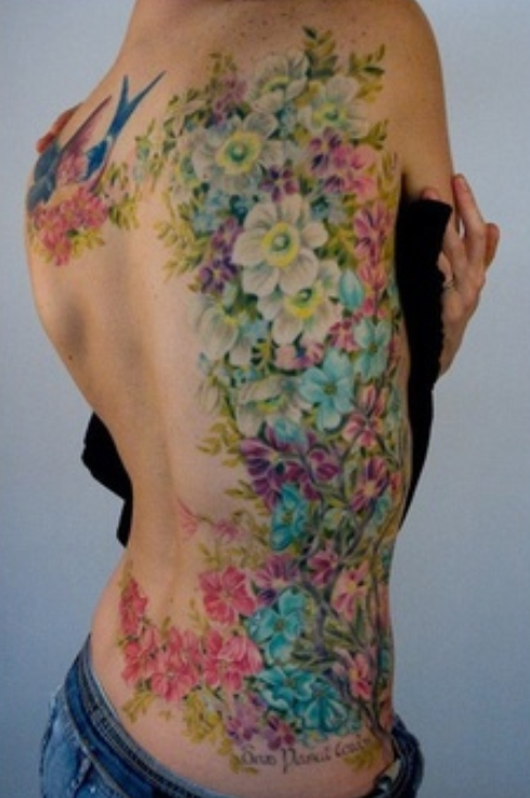 Share this article Realistic Flower Tattoos Tumblr