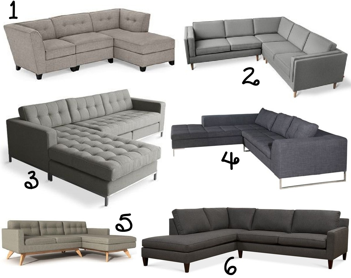21 tufted modern sectional sofa ideas the scrap shoppe for Modern sectional sofas