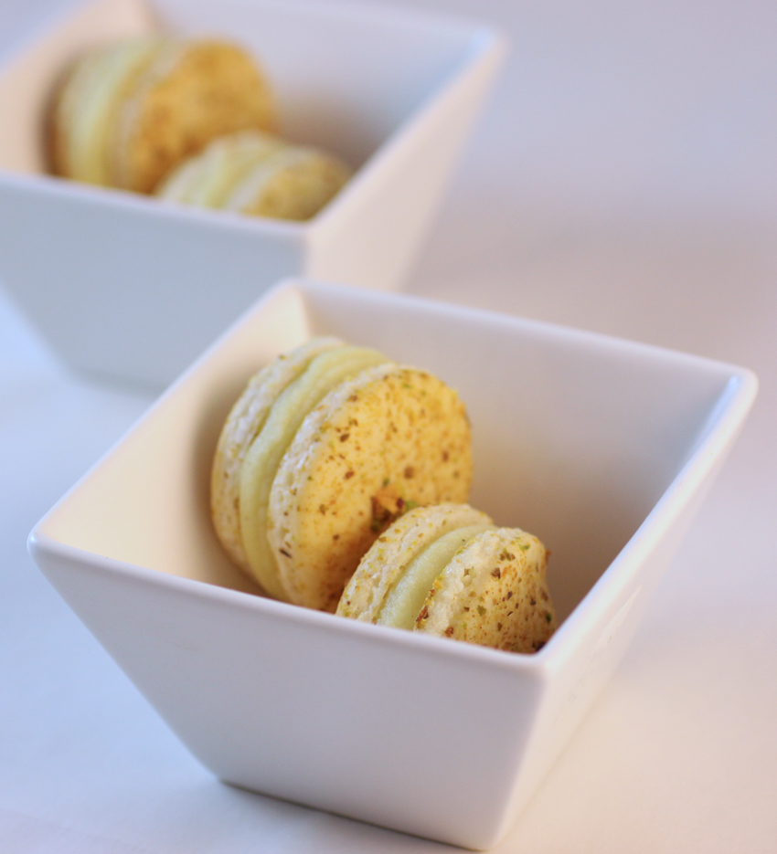 Yuzu Macaron with Candied Grapefruit & Wasabi (Macaron Delicieux by ...