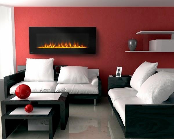 Les foyers électriques peuvent être installés dans n'importe quelle pièce