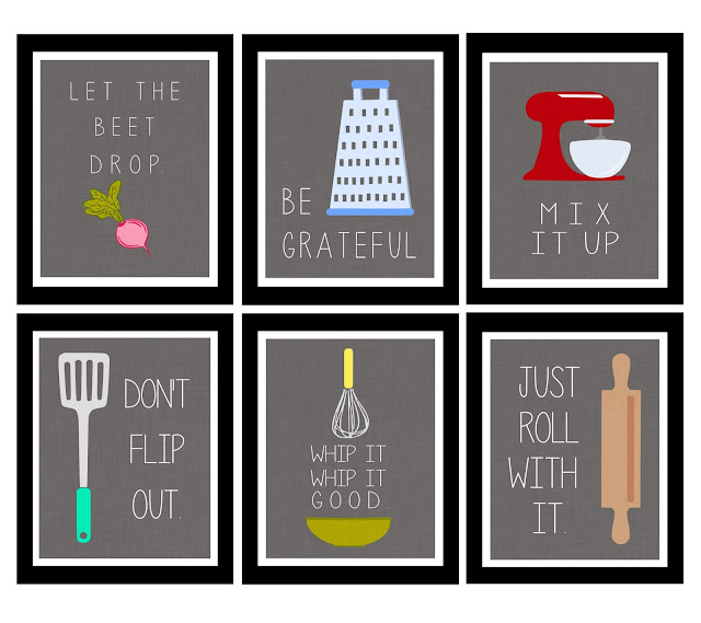 the jacobs clan: kitchen art