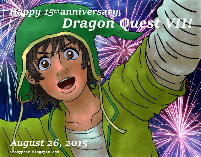 15 years of Dragon Quest VII