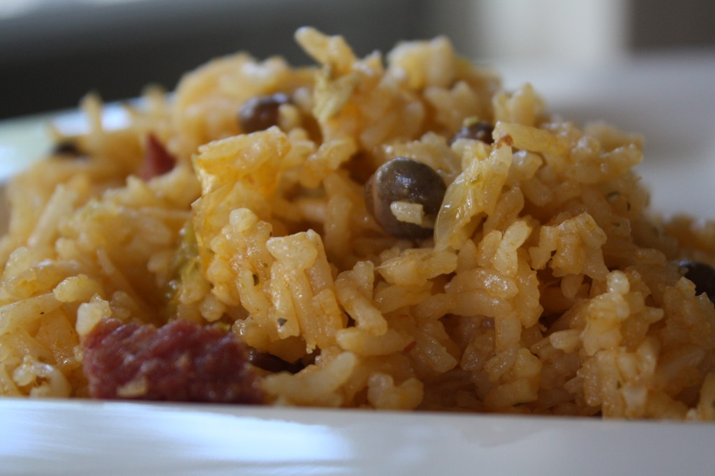 You Be the Cook: Arroz con Gandules (Rice with Pigeon Peas)