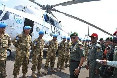 Misi Perdamaian, TNI Kirim 120 Personel dan 3 Heli MI-17 ke Sudan