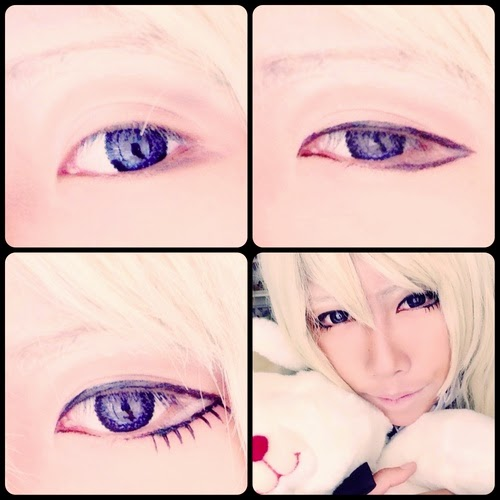 Barbie Lace violet colored contacts