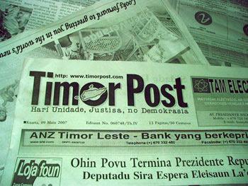"""""""EXISTE LIBERDADE DE IMPRENSA EM TIMOR-LESTE"""""""