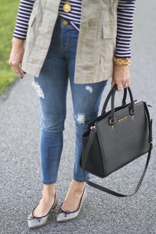 current elliot jeans, michael kors handbag