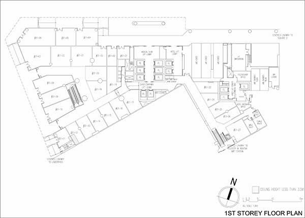 Royal Square Commercial Shops Floor Plan