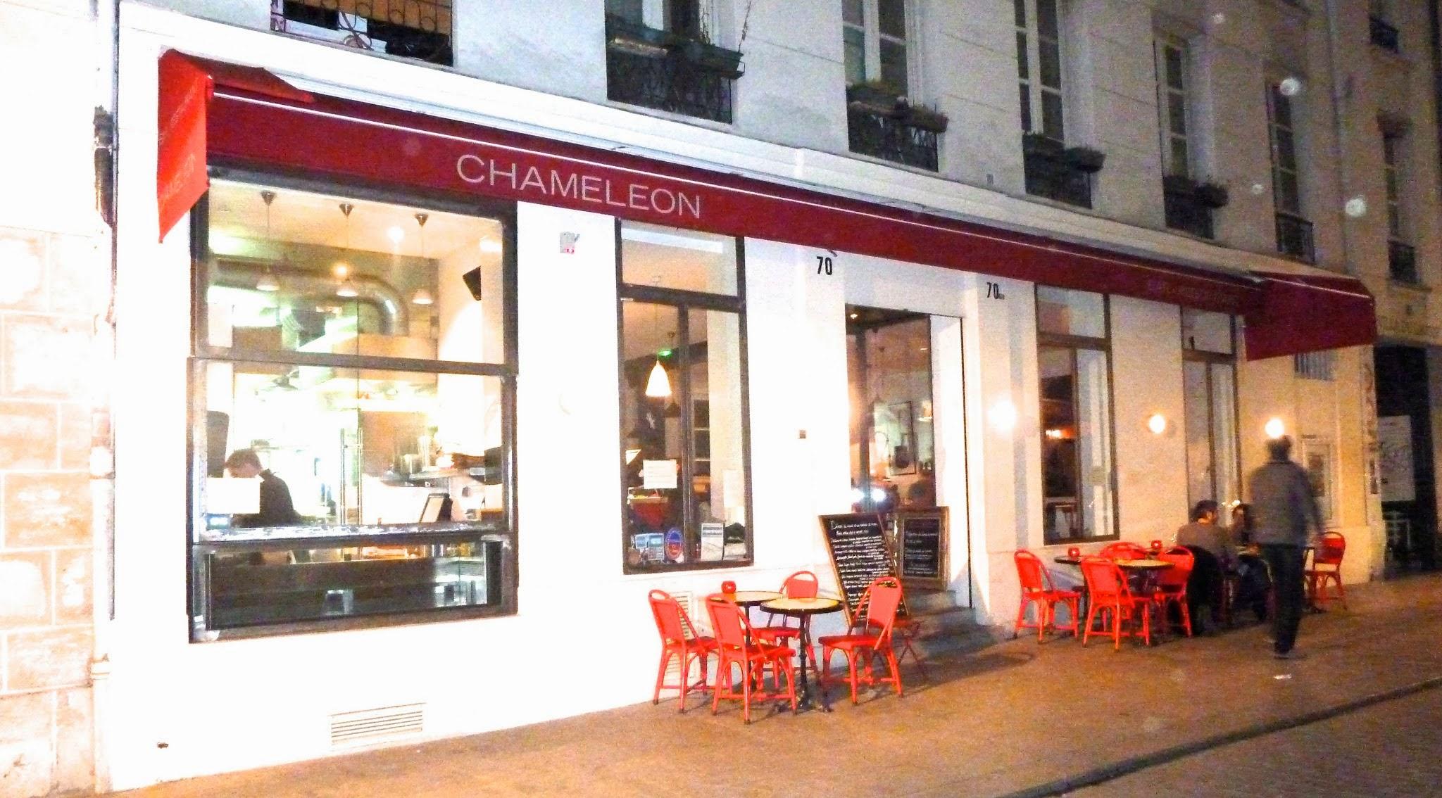 Chameleon restaurant review