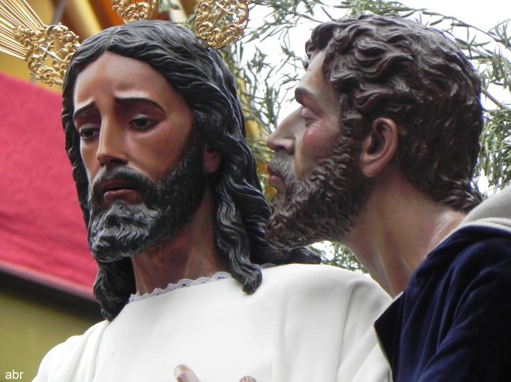 I Salida Procesional de la Agrupación Parroquial del Beso de Judas DSCN6324