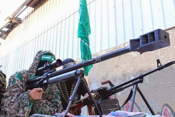 سلاح-غول-قناص كتائب القسام-فلسطيني-غزاوي الصنع