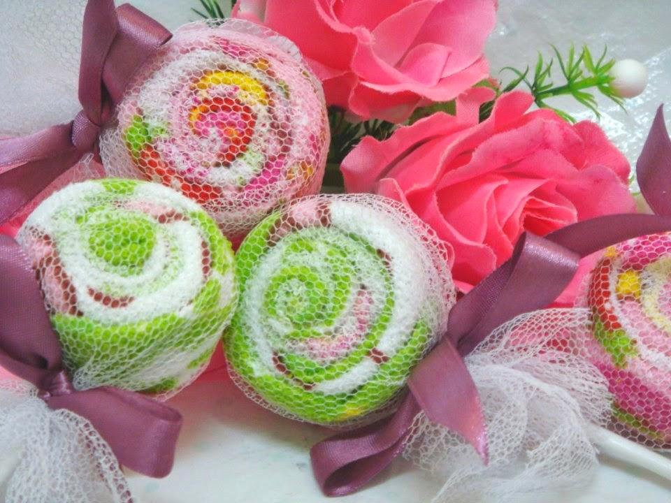 Door Gift-Handmade Lolipop Towel