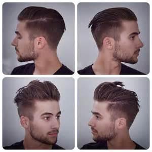 Potongan rambut slicked back