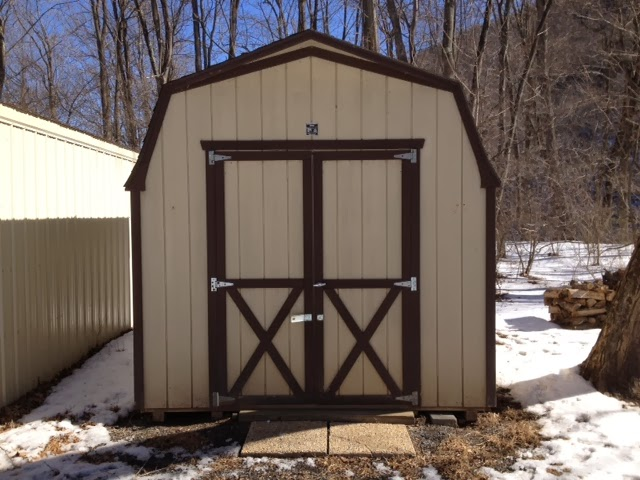 River Shed Decision to Convert Utility Shed into Tiny House