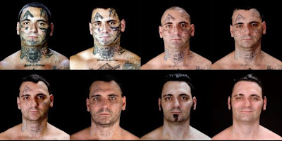 transformacion racista con tatuajes y sin tatuajes tatooless