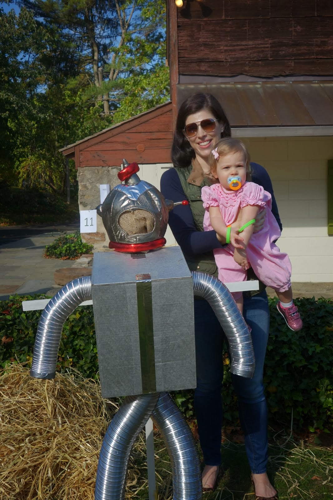 Hooray for Robot Scarecrows!