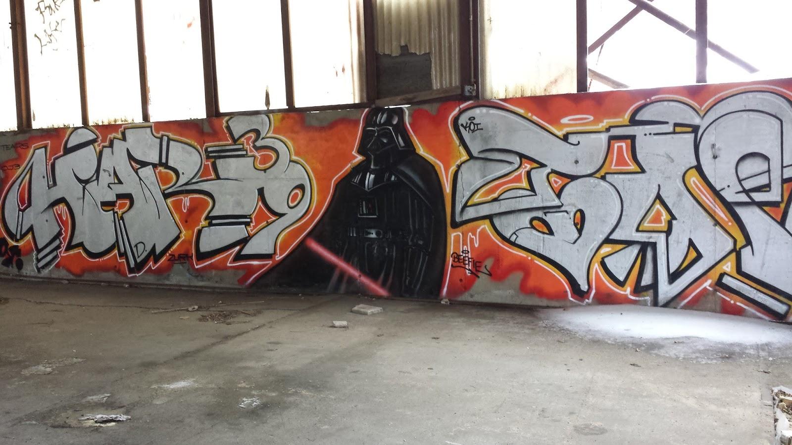 star wars grafitti