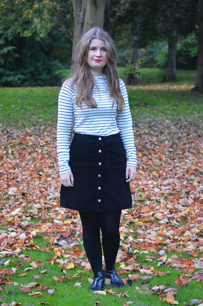 warehouse suede skirt  fashion bloggers