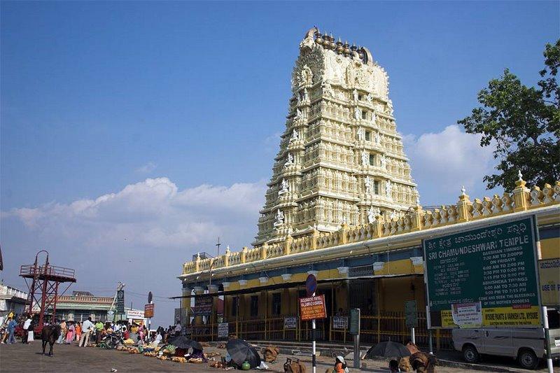 இமயம் முதல் குமரி வரை எத்தனை ஆலயங்கள்  Temple+28+Mysore+Chamundi