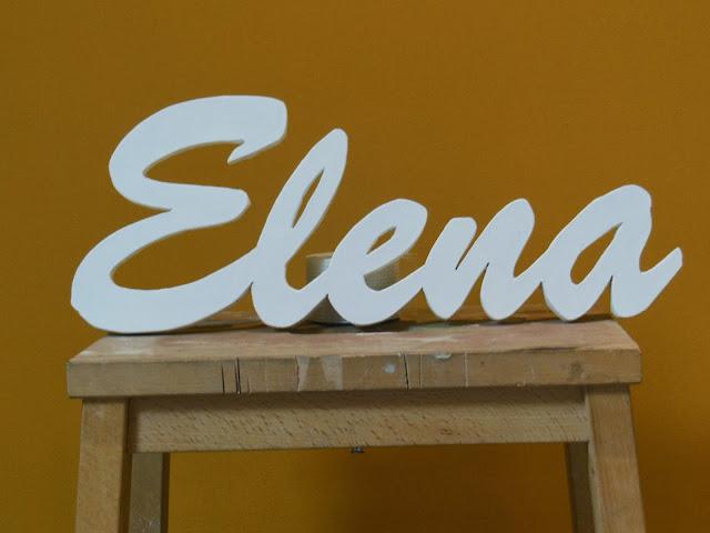 houten naam maken