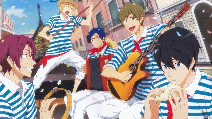 Free Anime Iwatobi Swim Club