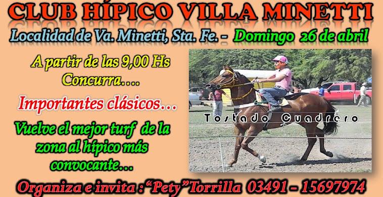 VILLA MINETTI 26-0