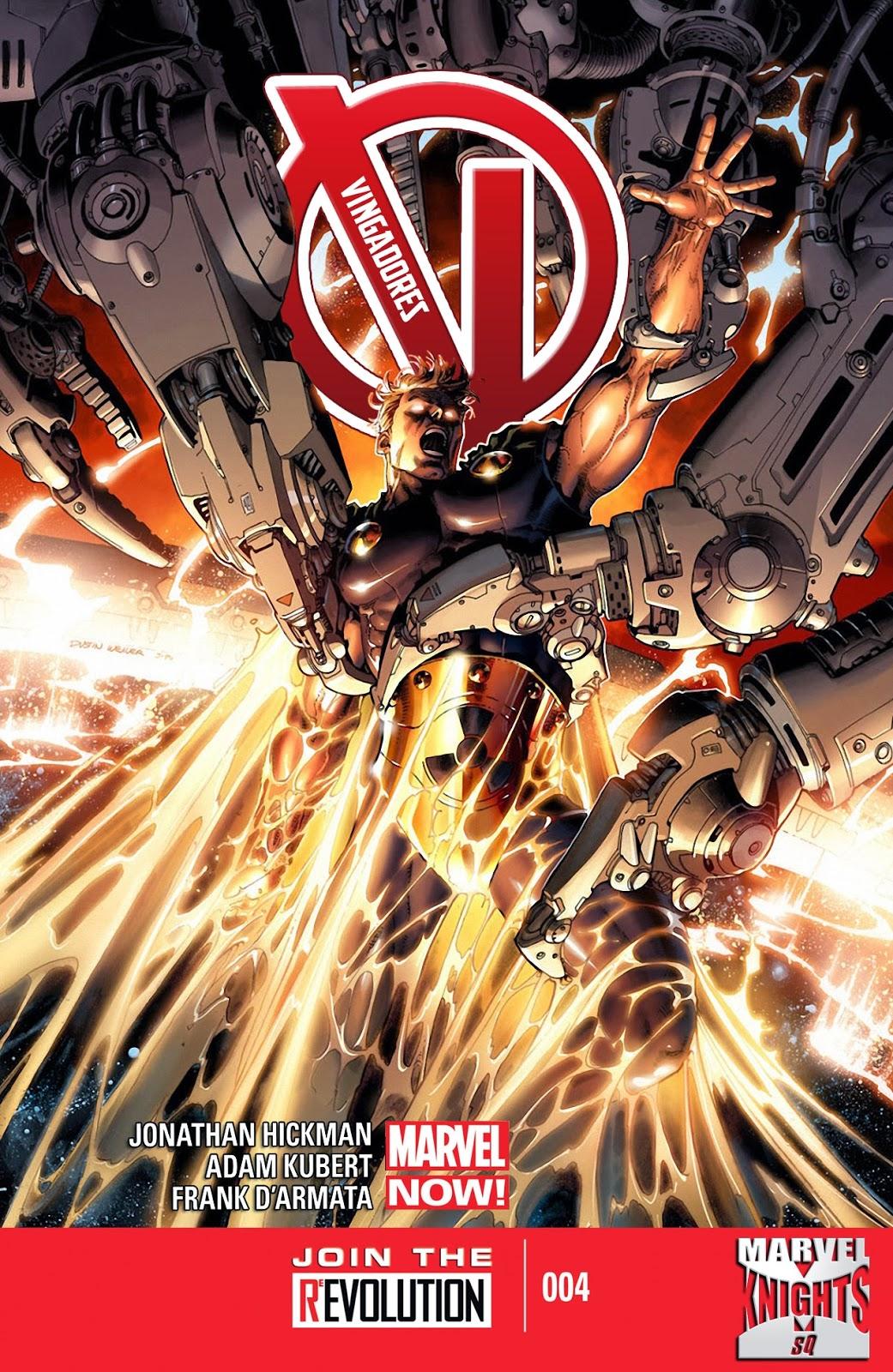 Nova Marvel! Vingadores v5 #4
