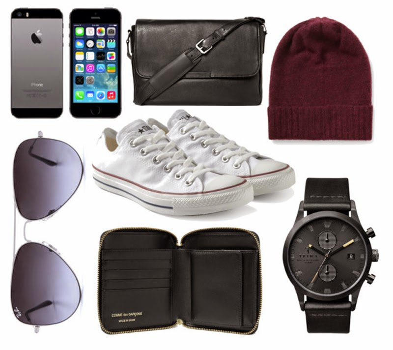 Men's must haves featured on Styled by Sasha