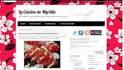La Cuisine de Myrtille : des recettes à la portée de tous pour manger en famille tous les jours.
