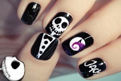Diseños de Uñas para Halloween, Halloween Nail Art Design