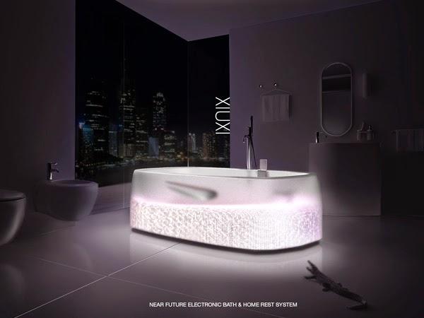 Шикарная ванна The Xiuxi