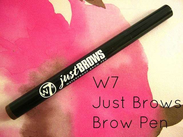 A picture of W7 just brows waterproof eyebrow pen.