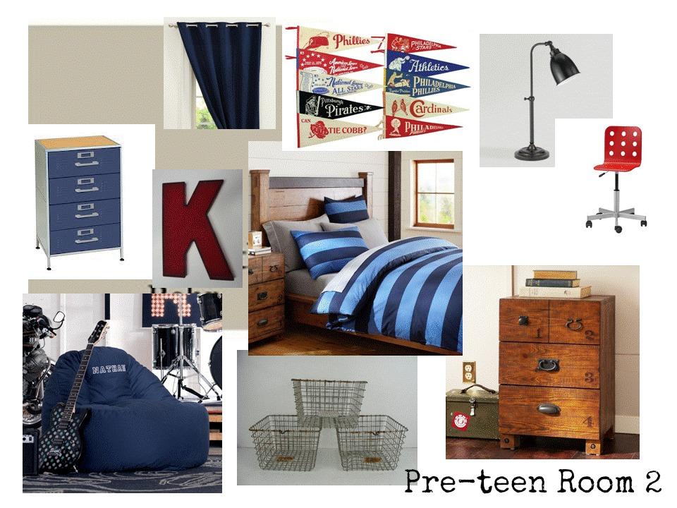 Pre Teen Boys Room Ideas