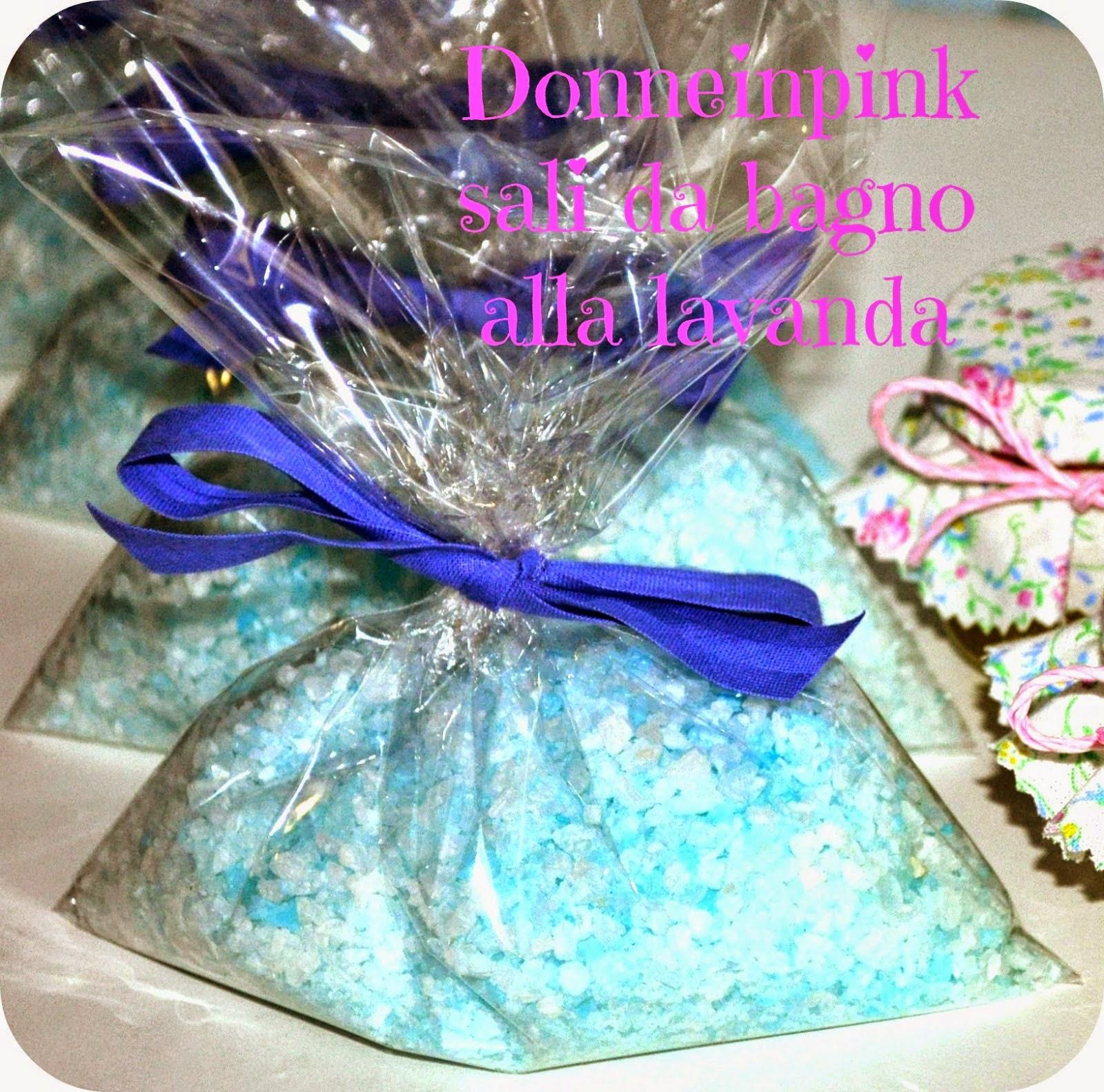 Sali da bagno alla lavanda fai da te - Idea regalo | donneinpink ...
