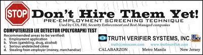 Truth Verifier System, Inc.