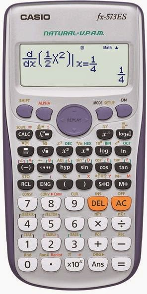 FX-83ES CALCULATOR MANUAL